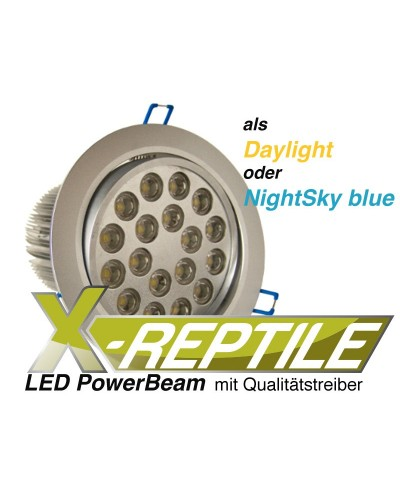 "LED PowerBeam 12Watt ""NightSky blue"""