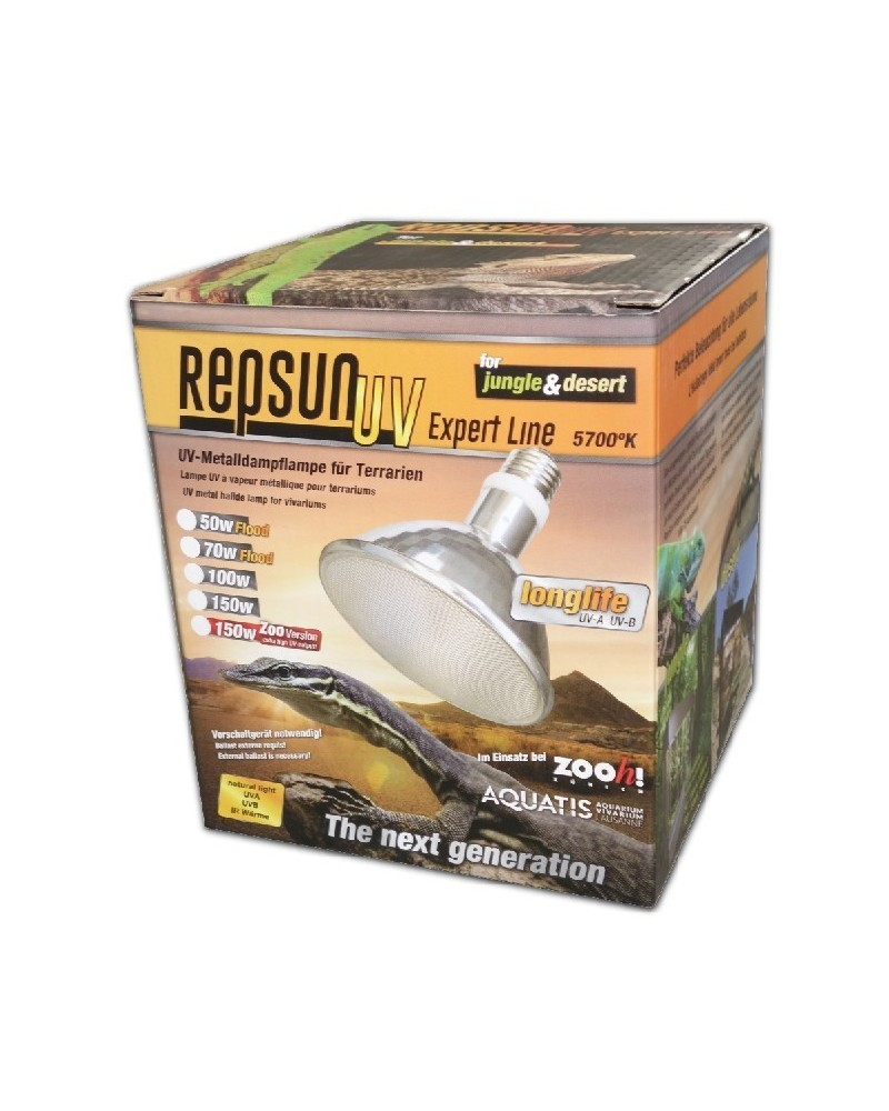 UV-MH 150Watt RepSun Wide-Flood