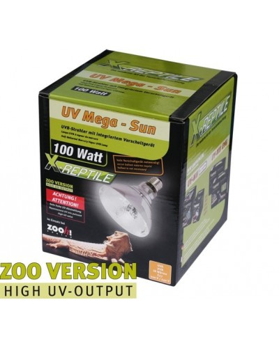 UV-Mega Sun ZOOVERSION 100Watt